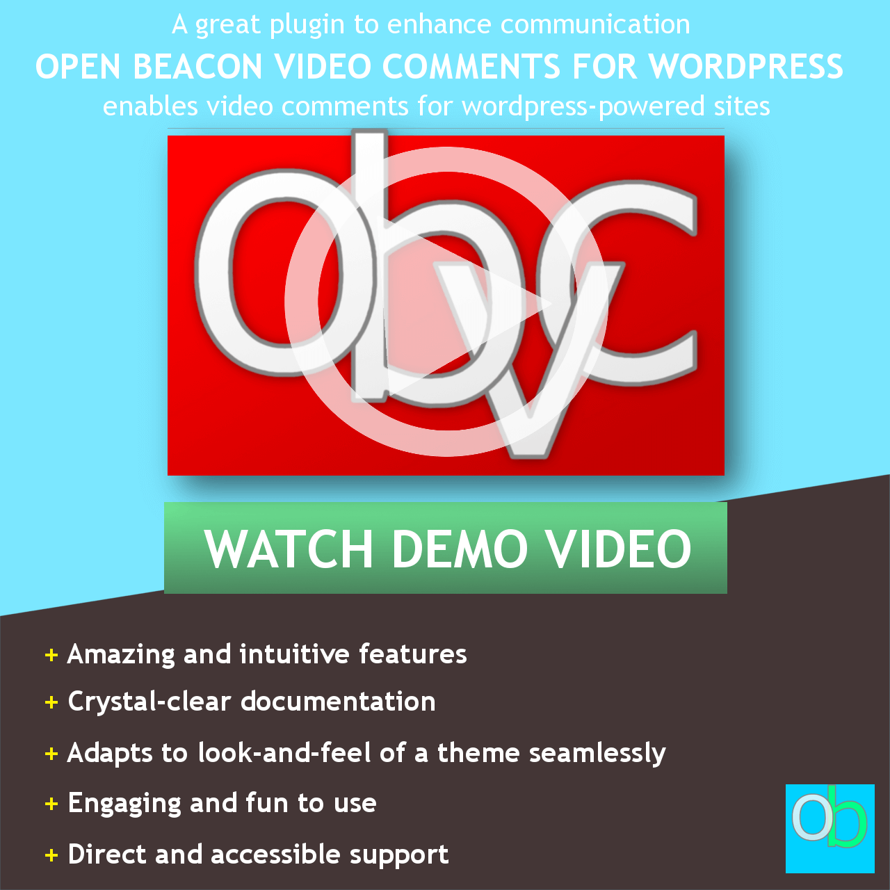 Open Beacon Video Comments for WP Using FFmpeg